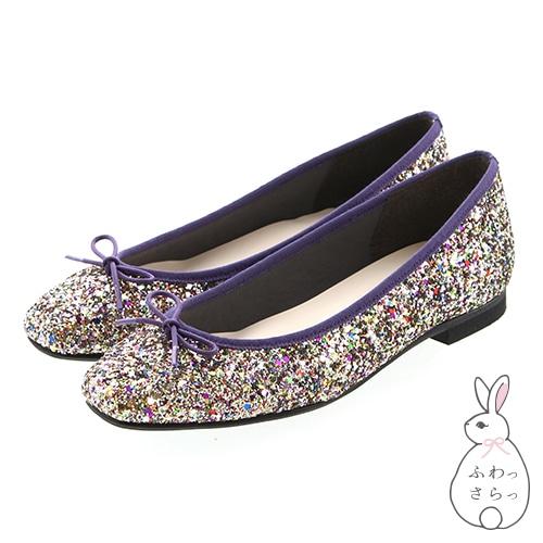 方形芭蕾舞鞋<蓬鬆> / 103-01370
