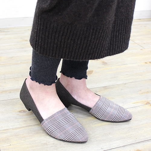 ★SALE★ストレッチスリッポンパンプス【Made in Japan】/123-02124